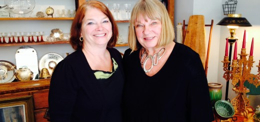 From left, Sherry Kancs and Dace Abeltins have opened Pebbles to Pearls Boutique in Westfield.
