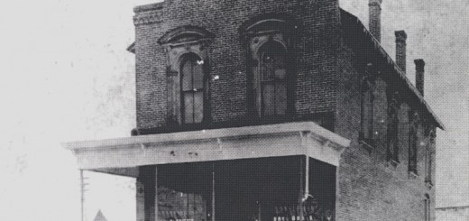 The State Farm Insurance building at 116th and Jaycee streets in downtown Fishers has stood since 1884. (submitted photo)