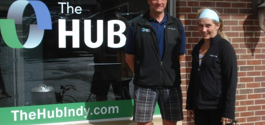 John Singleton and Wendy Cooper at The Hub in Carmel. (Submitted photo)