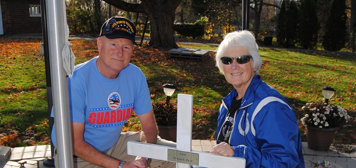 Bill Doss and Carol Peed. (Photo by Robert Herrington)