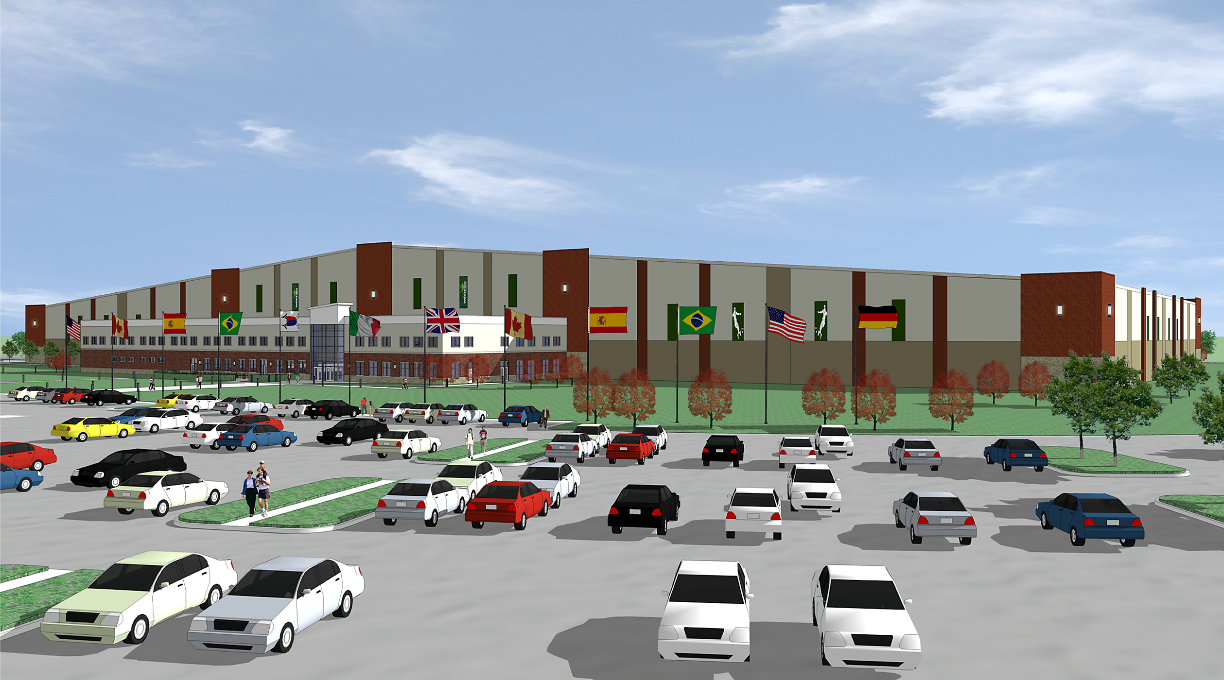 Westfield S Grand Park To Ink First Two Indoor Soccer Facility Tenants
