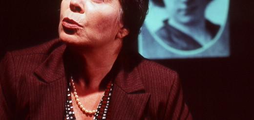 Miki Mathioudakis performs as Golda Meir. (Submitted photo)