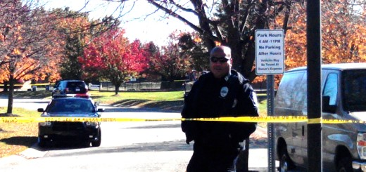 Fishers Police have cordoned off the entrance to Windermere Park at Windermere Blvd. and Parkway Dr. in the area of 96th and Mollenkopf after a man's body was found there around 7p.m. Saturdayt, Nov. 1st.
