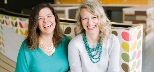 Tonya Bergeson-Dana and Jessica Beer, co-founders of Urban Chalkboard in Carmel. (Submitted photo)