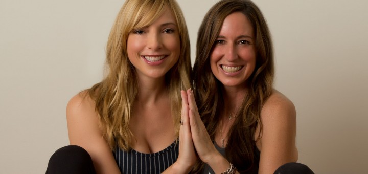New owner Erin Smith (left) and previ- ous owner Amy Lin Thomas seamlessly transition ownership of Flourish Yoga + Wellbeing. (Photo by Janelle DeWolf, Studio 116)