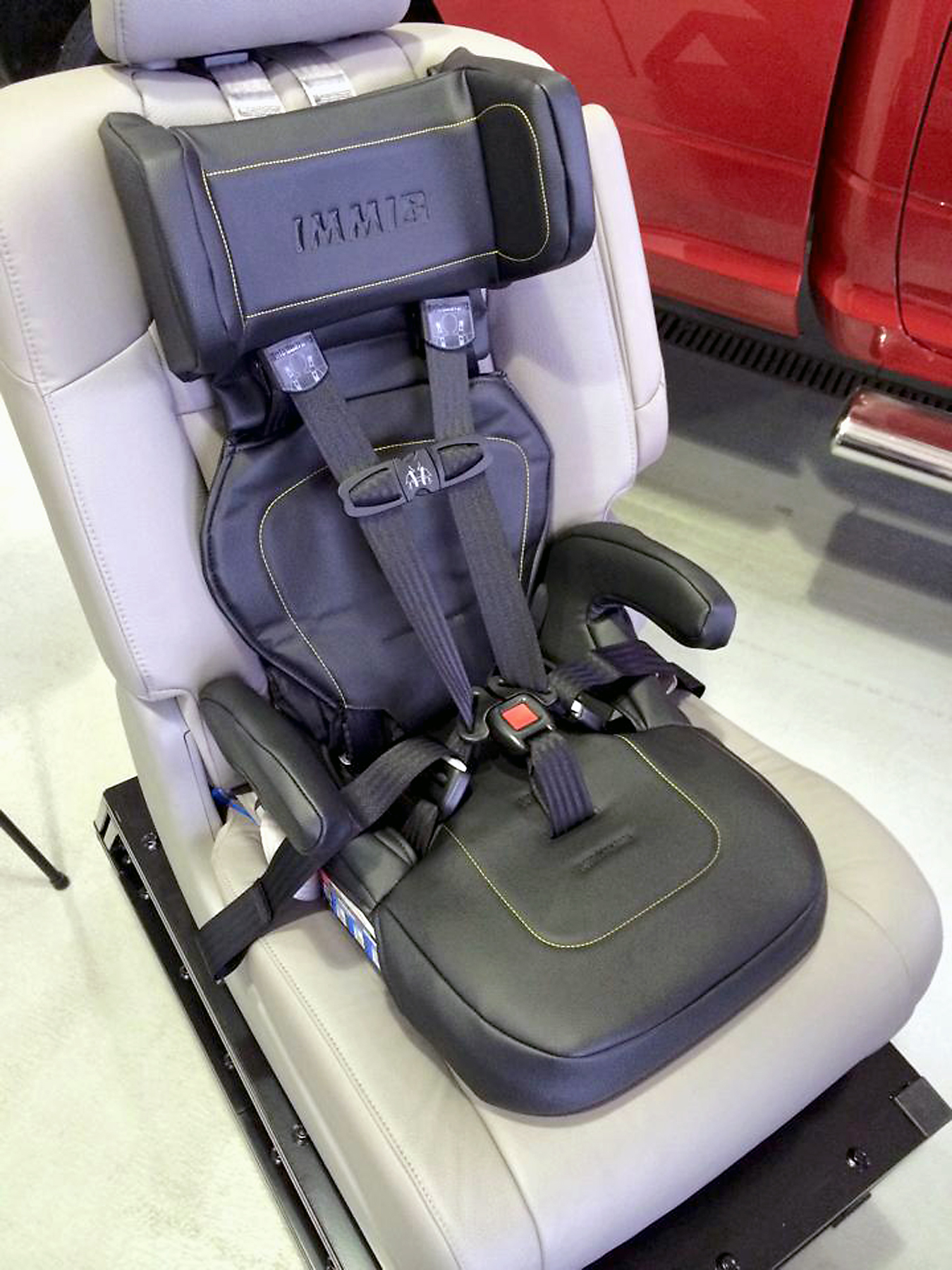 Westfield Emergency Services Receive New Car Seats For Children From IMMI