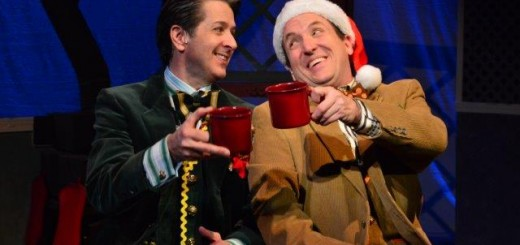 "Frog and Toad"" actors in the final Christmas scene. (Submitted photos)"
