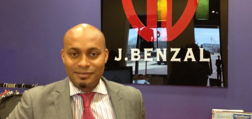"Mamadou ""Ben"" Diallo is owner and designer of J.Benzal Menswear. (Photo by Mark Robinson)"