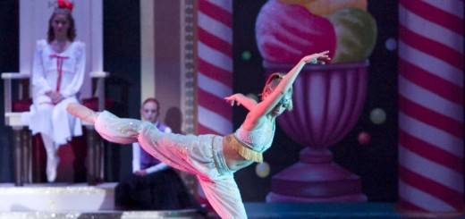 "A dancer performs the song ""Arabian Coffee"" from a performance of ""The Nutcracker"" by CIDE in 2005. (Submitted photo)"