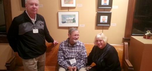 From left: Bill Duncan, Walt Thacker and Kris Thacker. (Photo by Steven Aldrich)