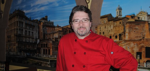 Lucio Romani is the Ristorante Roma executive chef and owner.