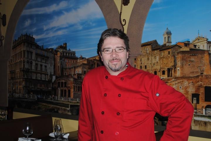 Lucio Romani is the Ristorante Roma executive chef and owner.