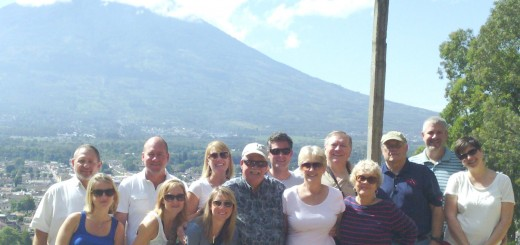 A group from Carmel Lutheran Church that travelled to build schoolrooms in Guatemala. Back row, from left to right: Lyn Grandt, Travis Walton, Catherine Gahl, Chris Gahl, David Reed, Scott Giger. Second row, from left to right: Micah Walton, Michele Stanton, Sara Powell, Bob Loser, Ruth Ann Loser, Janie Willen- brock, Bill Culbertson, Kate Giger. (Submitted photos)