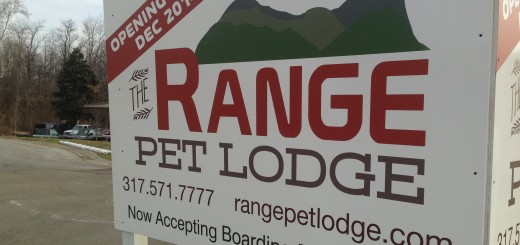 Pet Range Lodge, in the works. (Photo by Adam Aasen)