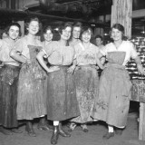 Women in the canning factory, circa 1918. (Submitted photos)