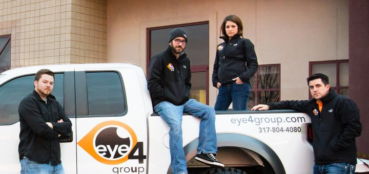 Eye 4 Group designs and fabricates signs and branding solutions. (Photo by Joshua Frank, www.franklyfocused.com)