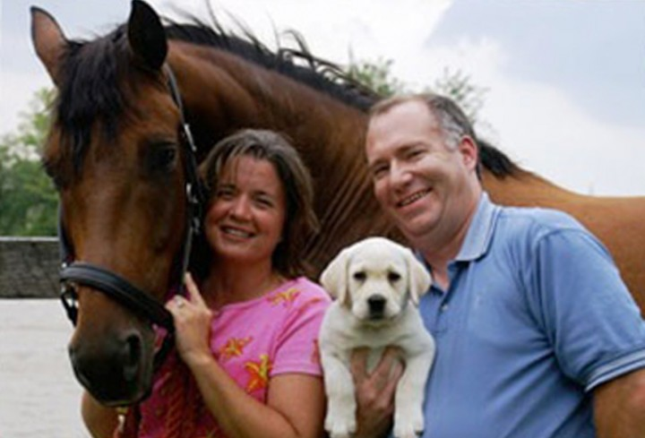 Dr. Steven W. Nichols and his wife, Katie, reside in Sheridan with their three dogs, four horses and three cats. (Submitted photo)