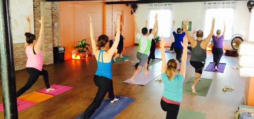 Classes are underway at Blooming Life Yoga, which will host a grand opening celebration from noon to 5 p.m. Jan. 31.