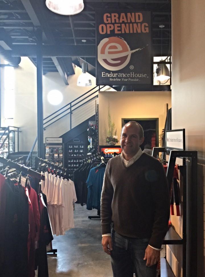 Jay Miller at Endurance House