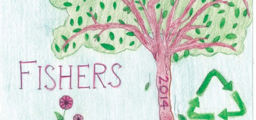 "The 27th annual T-shirt design contest for the Fishers Freedom Festival is currently accepting drawings from any student, Kindergarten through eighth grade, residing in the Hamilton Southeastern district. This year's theme is ""Where Families and Friends Unite."" Pictured is last year's winning design by Emma McCord."