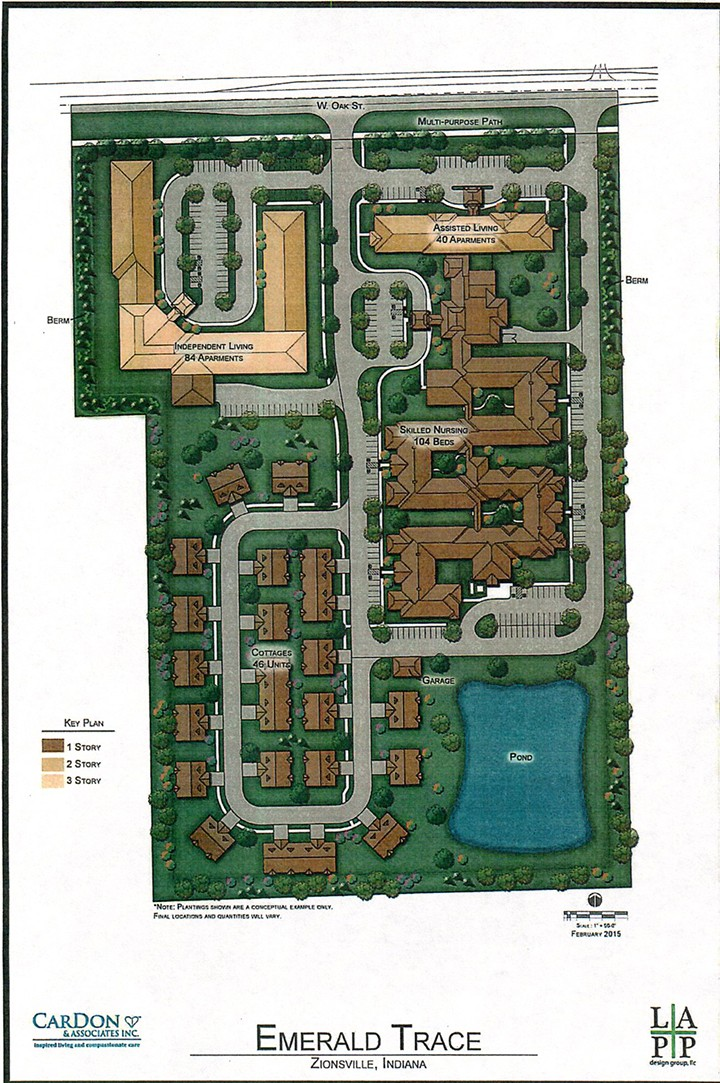 The Proposed Emerald Trace Senior Living Campus Includes Areas For Assisted  Living, Skilled Nursing,