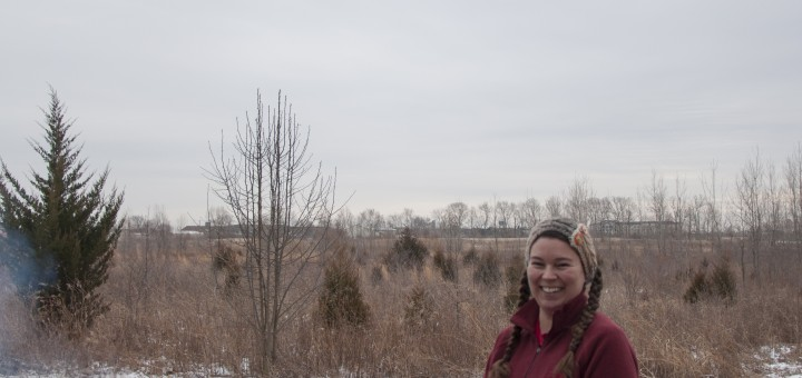 Cheif Naturalist Danesa Stolz helps to preserve natural areas in Fishers. (Photo by Heidi Schmidt)
