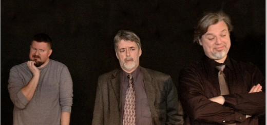 "Clay Mabbitt (Yvan), Larry Adams (Marc) and Daniel Shock (Serge) star in Carmel Theatre Company's production of Yasmina Reza's ""Art"" which opens Feb. 26 for a three weekend run. ���������������������������(Ken Kligenmeier)"