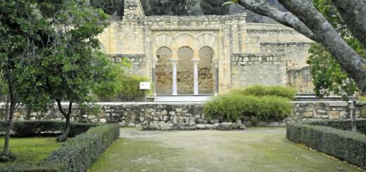 Ruins of Palace at Medina Azahara. (Photo by Don Knebel)
