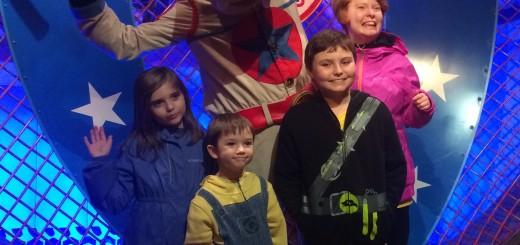 Vivian with siblings Madoc, Cadha and Cowan at Disney World. (Submitted photos)