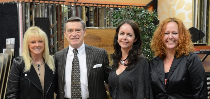 Karla Shone, Ronald R. Marburger, and daughters Kim Marburger and Kelly Marburger Novak keep integrity as the priority to serving customers. (Photo by Theresa Skutt)