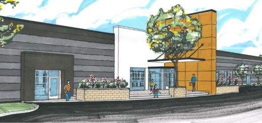 The outside of the proposed new space. (Submitted renderings)