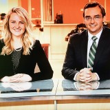 Newslink Indiana anchors Jenna Liston of Westfield and Nick Siano. (Submitted photo)