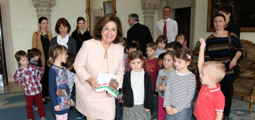 Princess Katherine has dedicated much of her time and energy to helping children in Serbia. (Submitted photo)