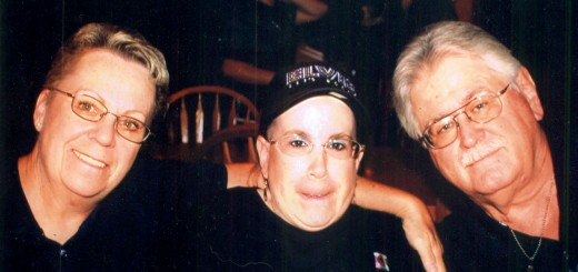Mary Ann, Jean and Ralph Starr are thankful for Josh Leagre's heroic act. (Submitted photo)