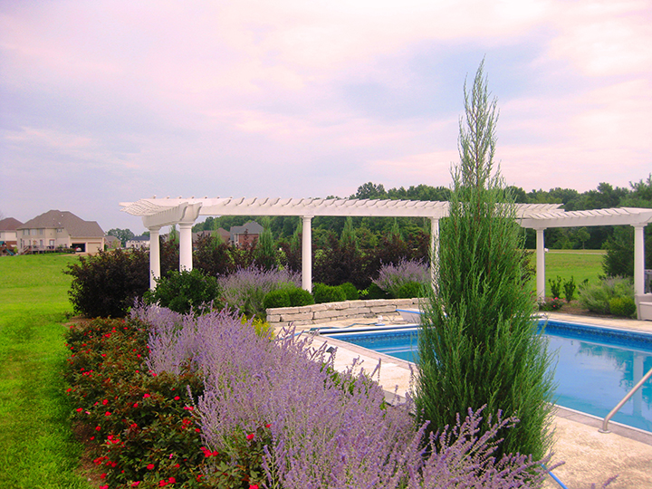 A spring garden with beautiful pergolas. (Submitted photo)