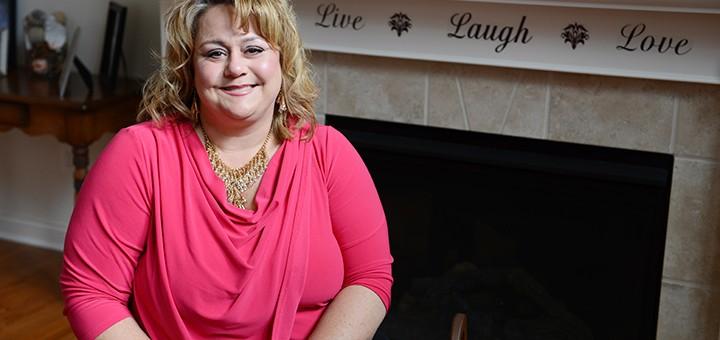 Westfield's Missy Boyter Gunnels, a breast cancer survivor, will serve as an ambassador for the Susan G. Komen Foundation. (Photo by Theresa Skutt)