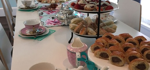 Traditional English tea party. (Submitted photo)