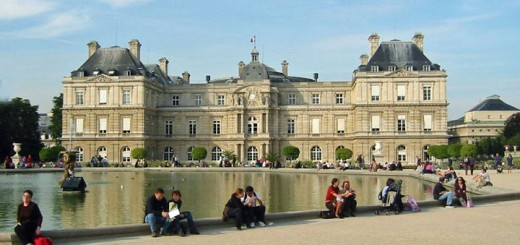 Luxembourg Palace in Paris (Photo by Don Knebel)