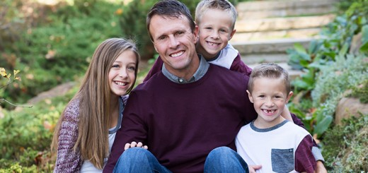 Bryan Babb with kids Emily, 13, Blake, 7, and Drew, 7. (Submitted photos)