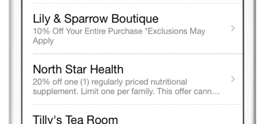 """A way that users can be notified on hot deals in the area is through the """"Deals"""" section on the app."""