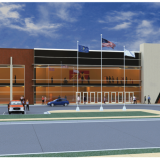 A rendering of the new complex. (Submitted rendering)