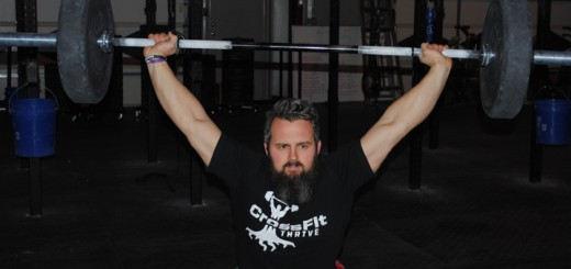 Darin Moon is the co-owner of Crossfit Thrive and will celebrate the gym's third anniversary this summer. (Photo by Mark Ambrogi)