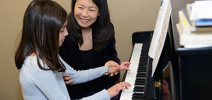 Korean native Ji-Eun Lee brings musical education through her Fishers academy. (Photo by Theresa Skutt)