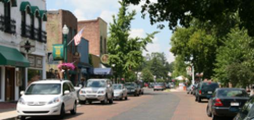 zionsville city town main street