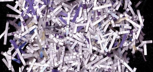 shredder shredded paper