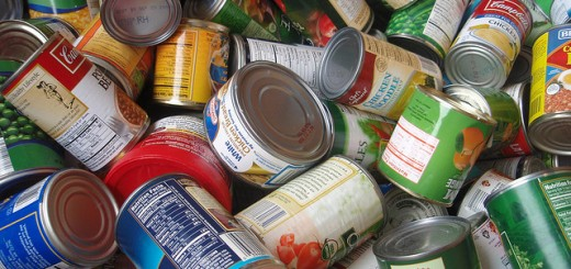 canned food drive bank