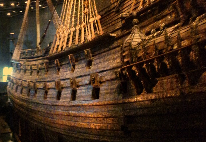 Vasa Warship in Stockholm's Vasa Museum (Photo by Don Knebel)
