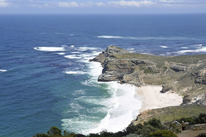 Cape of Good Hope from Cape Point, South Africa (Photo by Don Knebel)