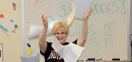 WHS teaher Nikki Davis retires after 25 years. (Photo by Theresa Skutt)