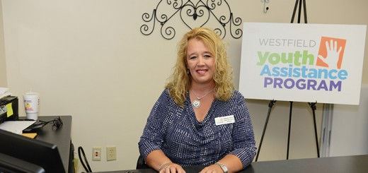 Christine Brown, early intervention advocate for the Westfield Youth Assistance program. (Photo by Theresa Skutt)